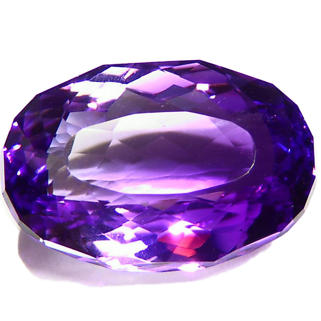Large faceted 24ct Jackson Crossroads Amethyst