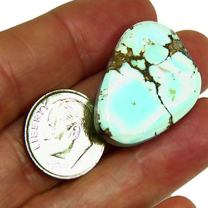 Unstabilized all natural lone mountain turquoise