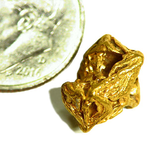 Gold crystal specimen from Venezuela