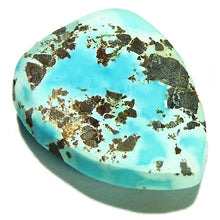 Load image into Gallery viewer, Untreated, bright sky blue, Lone Mountain turquoise cab