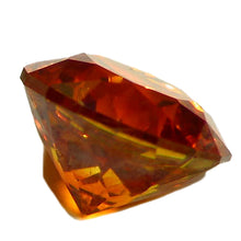 Load image into Gallery viewer, American cut, sparkling, all natural Sphalerite gemstone