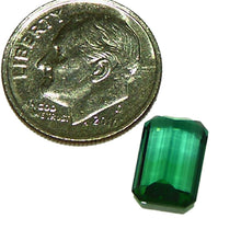 Load image into Gallery viewer, Natural blue, green tourmaline American cut