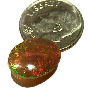 Hydrophane Welo Ethiopian Opal with lots of color
