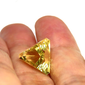 Faceted yellow Feldspar