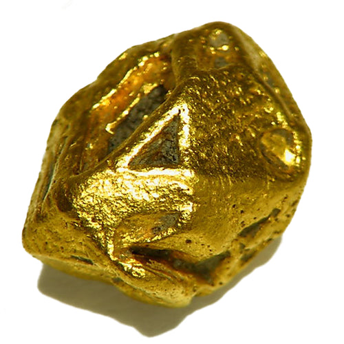 Very rare natural gold crystal from Venezuela
