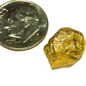 All natural Venezuela gold crystal, very rare