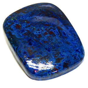 Beautiful natural Azurite Cabochon