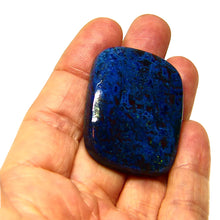 Load image into Gallery viewer, Large natural Azurite Cab from Madagascar