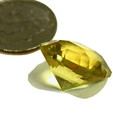 Load image into Gallery viewer, Large, faceted, natural yellow Beryl