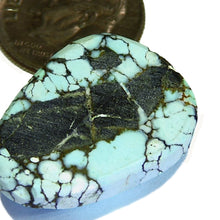 Load image into Gallery viewer, Natural spiderweb lone mountain turquoise from Nevada