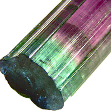 Load image into Gallery viewer, Natural tri color blue cap tourmaline crystal