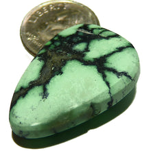Load image into Gallery viewer, All natural green New Lander spiderweb turquoise