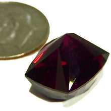 Load image into Gallery viewer, Clean faceted large Rhodolite garnet