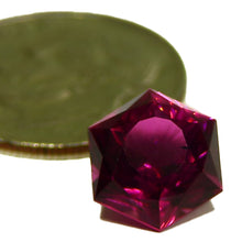 Load image into Gallery viewer, Rich pink all natural cut rubellite tourmaline