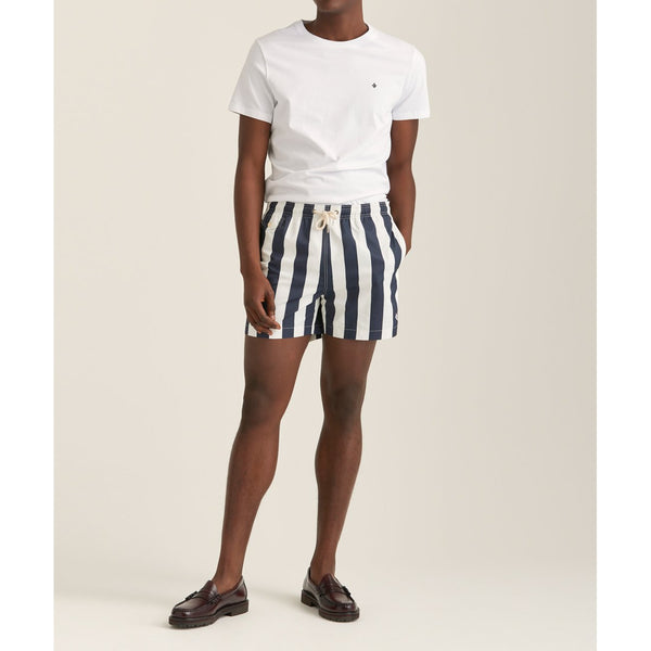 Duke Block Stripe Bath Trunks - Thernlunds