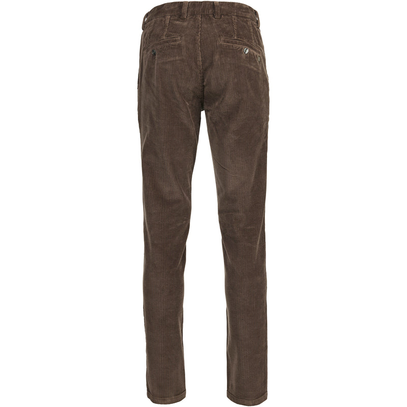 Hansen & Jacob - Byxa - Corduroy Stretch Chino (66 Breen) - Thernlunds