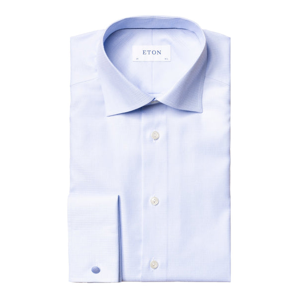 Eton - Skjorta - Signature Contemporary Fit Shirt (21 Blue) - Thernlunds