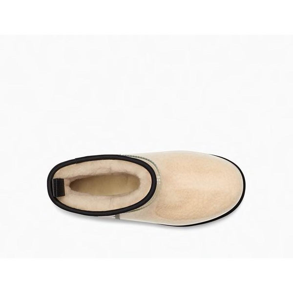 Ugg - Skor - W Classic Clear Mini (Natural / Black) - Thernlunds