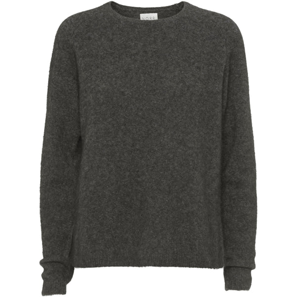 Norr - Tröja - Salt knit (Dark Brown) - Thernlunds