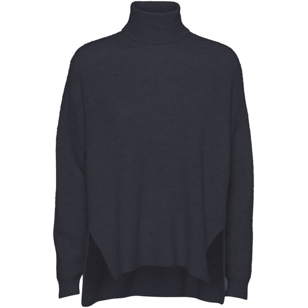 Norr - Tröja - Nordby roll neck (dark navy) - Thernlunds