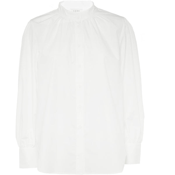 Norr - Skjorta - Drew Shirt (WHITE) - Thernlunds
