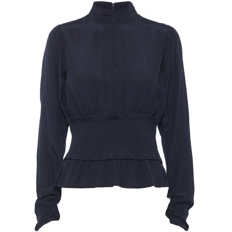 Norr - Topp - Easton Top (dark navy) - Thernlunds