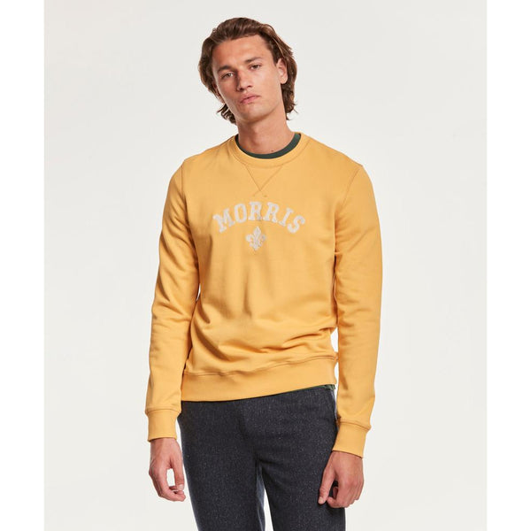 Morris - Tröja - Keaton Sweatshirt (15 Yellow) - Thernlunds