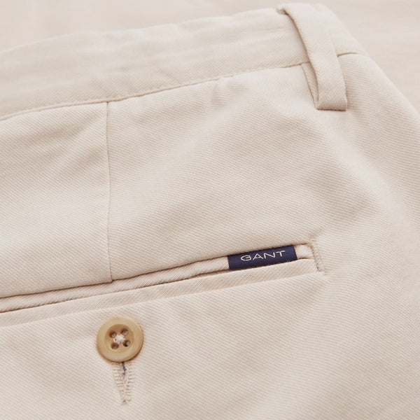 Gant - Byxa - Hallden Tech Prep Chinos (34 Putty) - Thernlunds