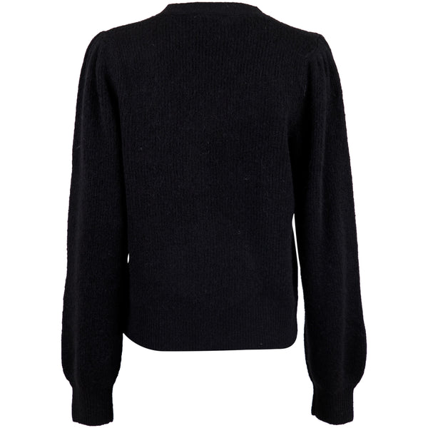 Neo Noir - Cardigan - Gimma Knit Cardigan (100 Black) - Thernlunds