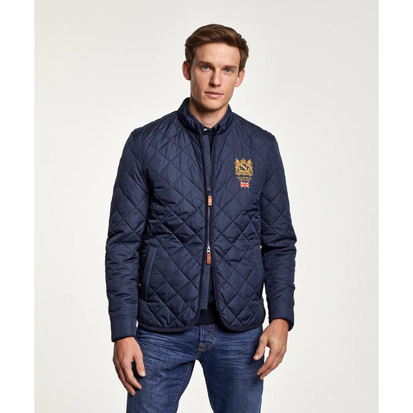 Morris - Jacka - Trenton Quilted Jacket (59 Old Blue) - Thernlunds