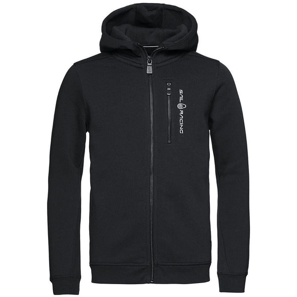 Sail Racing - Tröja - JR Bowman Zip Hood (999 Carbon) - Thernlunds