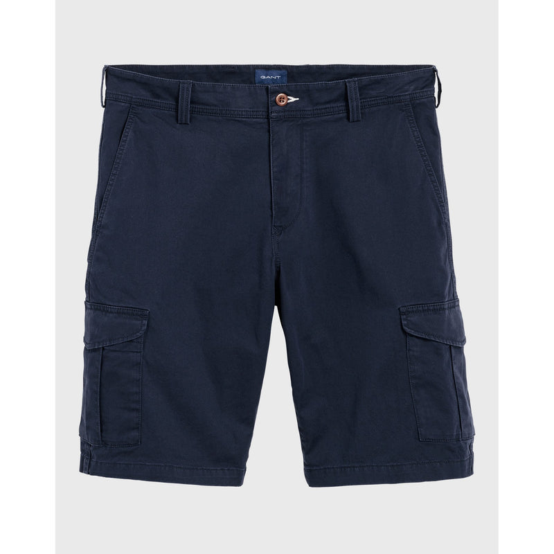 Gant - Shorts - Relaxed Utility Shorts (410 Marine) - Thernlunds