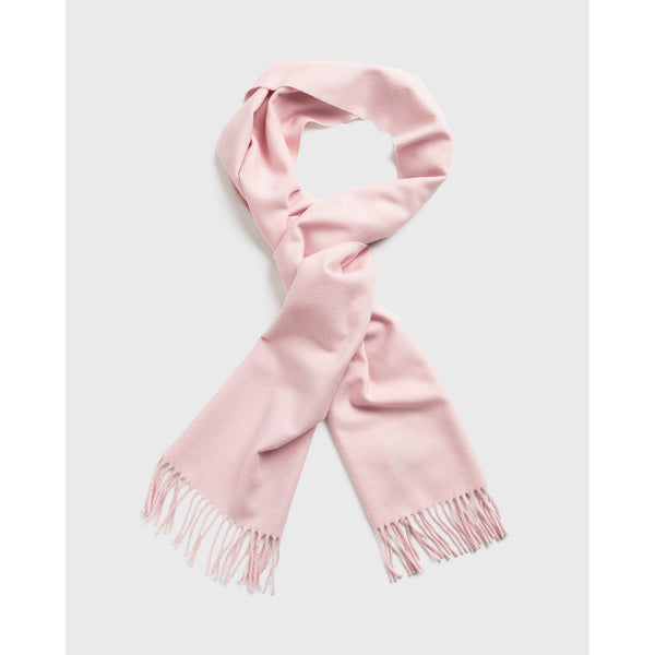 Gant - Halsduk/Scarf - 4920080 Solid Wool Scarf (662 Light Pink) - Thernlunds