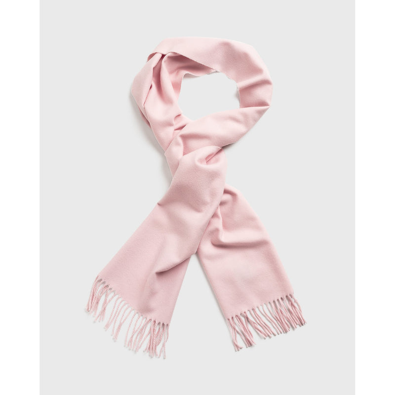 Gant - Halsduk/Scarf - Solid Wool Scarf (662 Light Pink) - Thernlunds