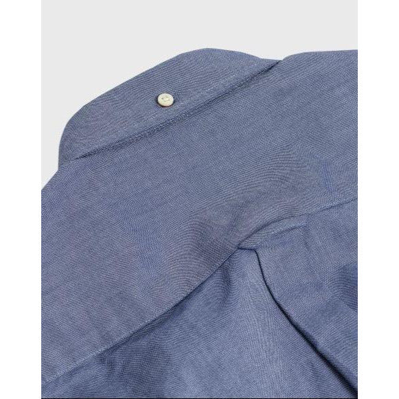 Gant - Skjorta - The Oxford Shirt Reg Bd (423 Persian Blue) - Thernlunds