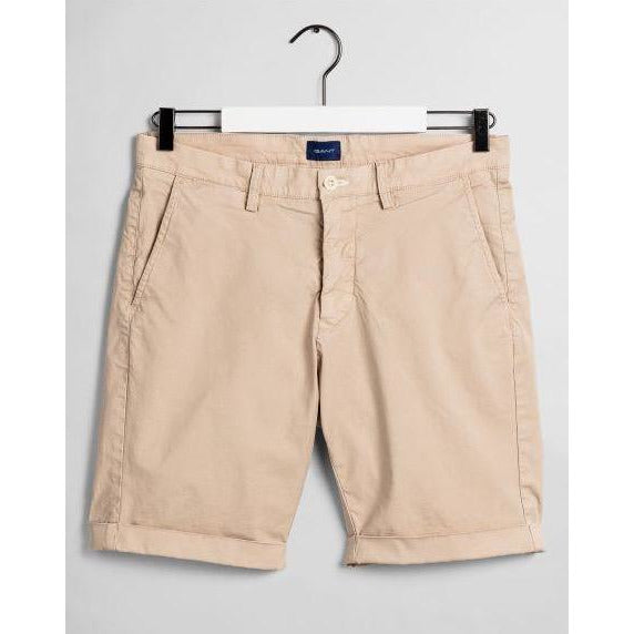 Gant - Shorts - Regular Sunfaded Shorts (277 Dry Sand) - Thernlunds