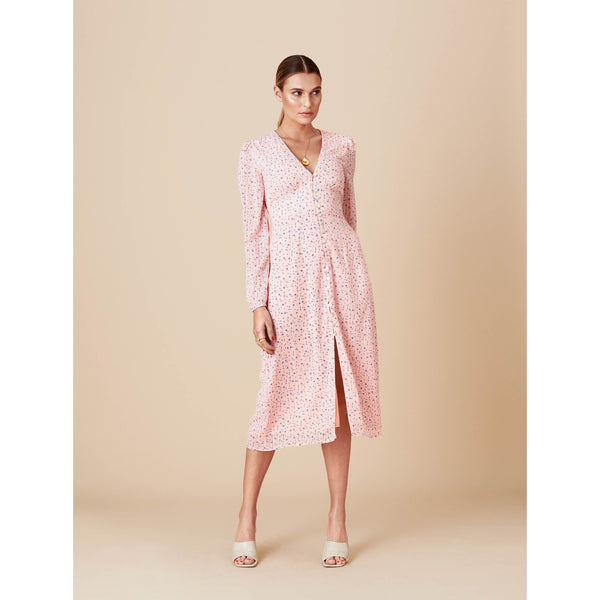 Adoore - Klänning - Paris Dress (Pink) - Thernlunds