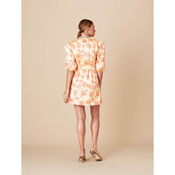 Adoore - Klänning - Retro Dress (Orange) - Thernlunds