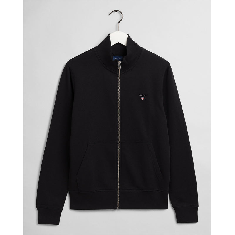 Gant - Tröja - The Original Full Zip Cardigan (5 Black) - Thernlunds