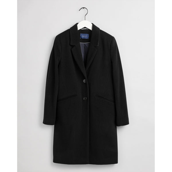 Gant - Rock - Classic Tailored Coat (5 Black) - Thernlunds