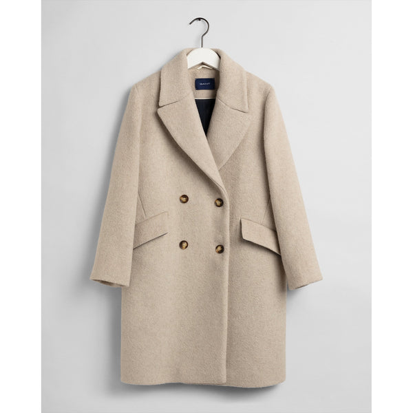 Gant - Rock - 4751029 Oversized Wool Blend Coat (291 Manila Melange) - Thernlunds