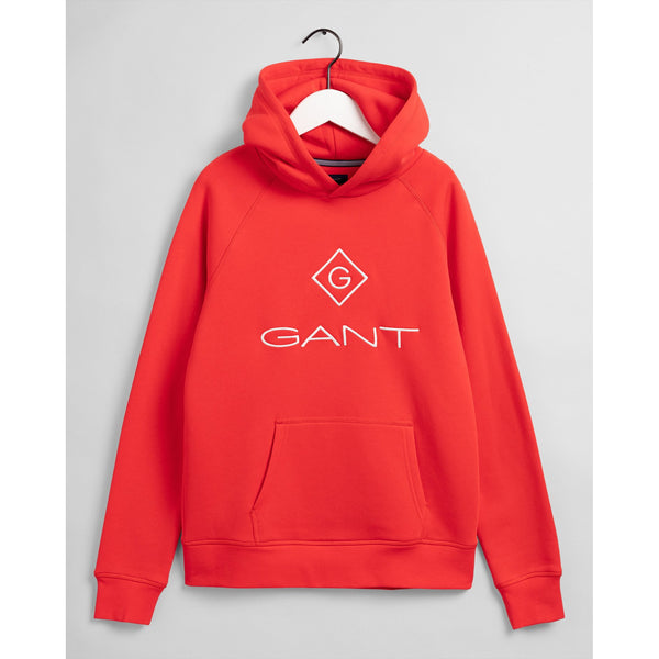 Gant - Tröja - 906760 Gant Lock-Up Sweat Hoodie (836 Atomic Orange) - Thernlunds