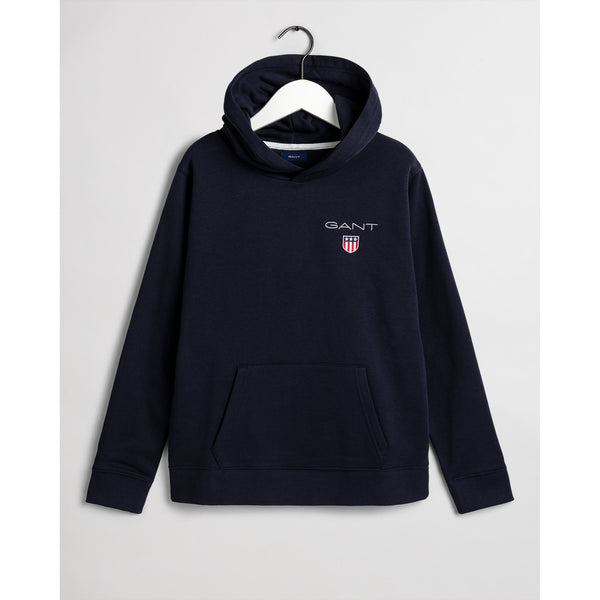 Gant - Tröja - D1. Medium Shield Sweat Hoodie - Thernlunds