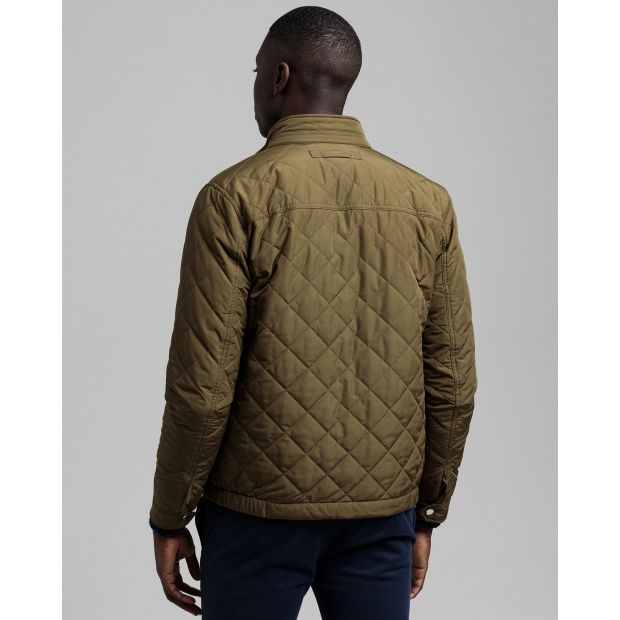Gant - Jacka - Quilted Windcheater (349 Dark Cactus) - Thernlunds