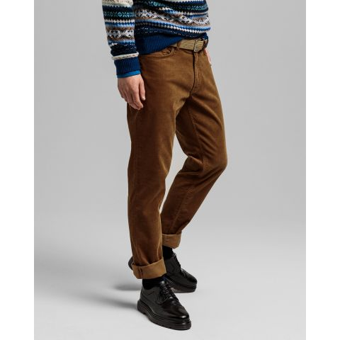 Gant - Jeans - Slim Cord Jeans (322 Butternut) - Thernlunds