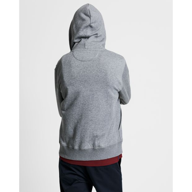 Gant - Tröja - Original Full Zip Hoodie - Thernlunds