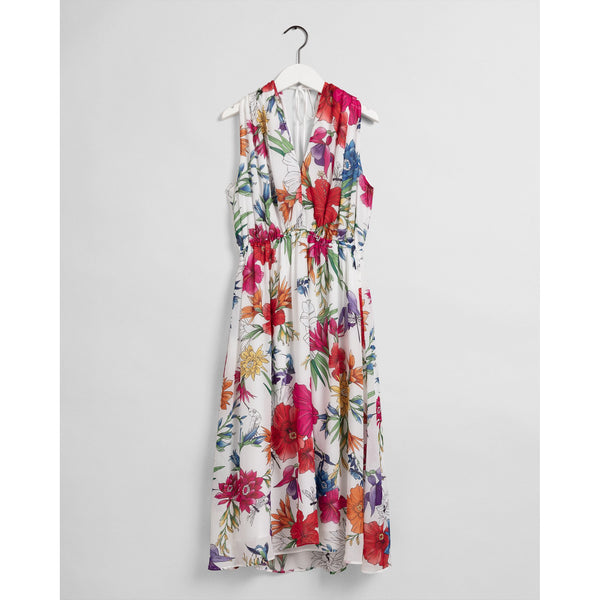 Gant - Klänning - D2. HUMMING FLORAL DRESS - Thernlunds