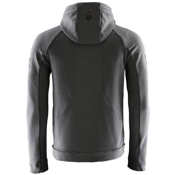 Sail Racing - Tröja - Race Tech Hybrid Hood (956 Dk Grey Mel) - Thernlunds