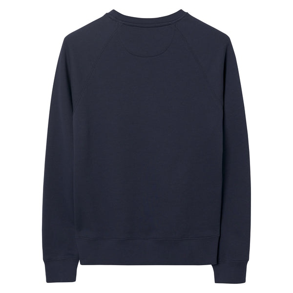 Gant - Tröja - Gant Shield C-Neck Sweat (433 Evening Blue) - Thernlunds