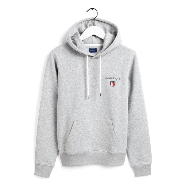 Gant - Tröja - Gant Medium Shield Sweat Hoodie - Thernlunds